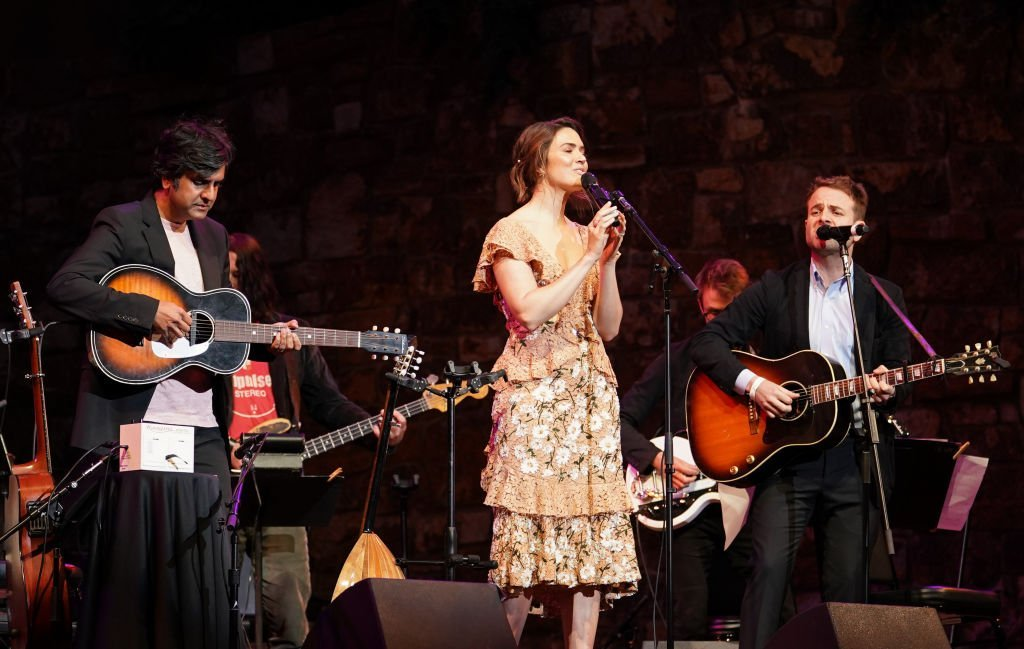 """Siddhartha Khosla, Mandy Moore and Taylor Goldsmith perform at 20th Century Fox Television and NBC Present """"This Is Us"""" FYC Event at John Anson Ford Amphitheatre 