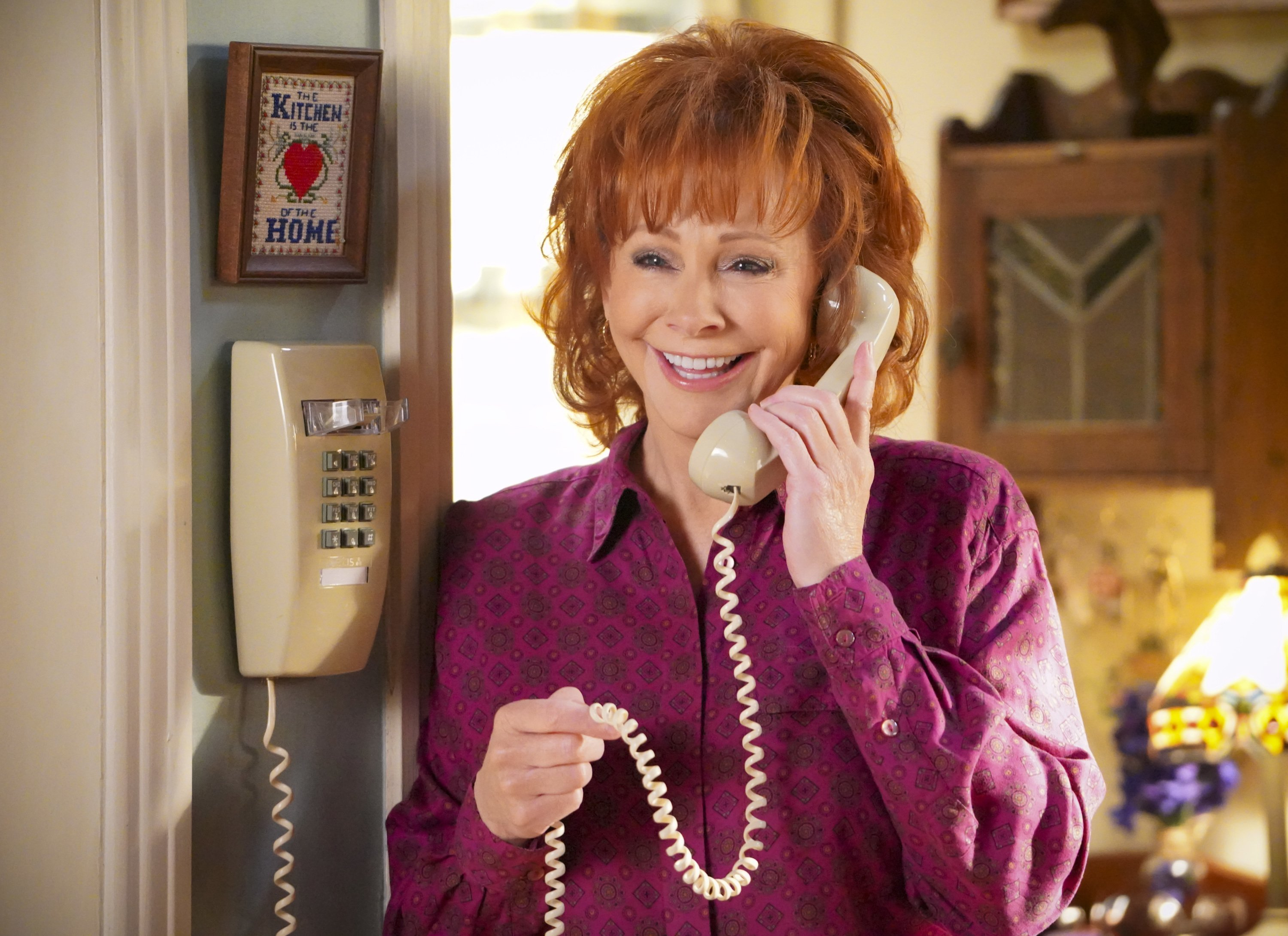 """Reba McEntire on """"Young Sheldon"""" in January 2020. 