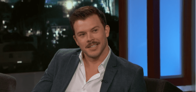 Jimmy Tatro during an interview with Jimmy Kimmel in December 2018   Photo: YouTube/Jimmy Kimmel Live