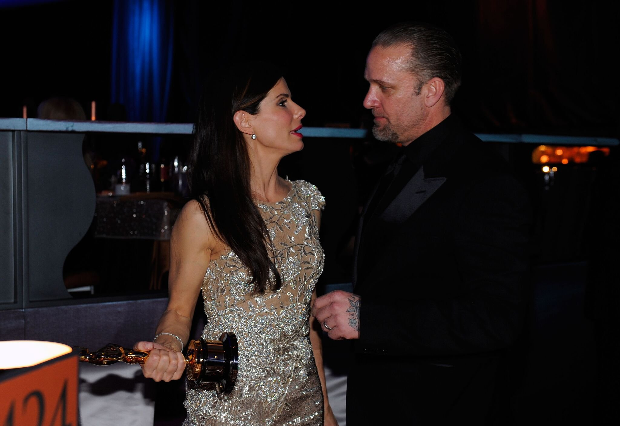 Sandra Bullock and Jesse James at the 82nd Academy Awards | Getty Images
