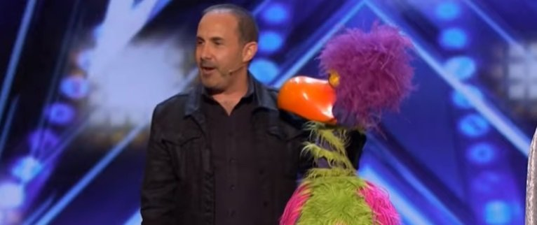 """Michael Paul performing at """"America's Got Talent."""" 