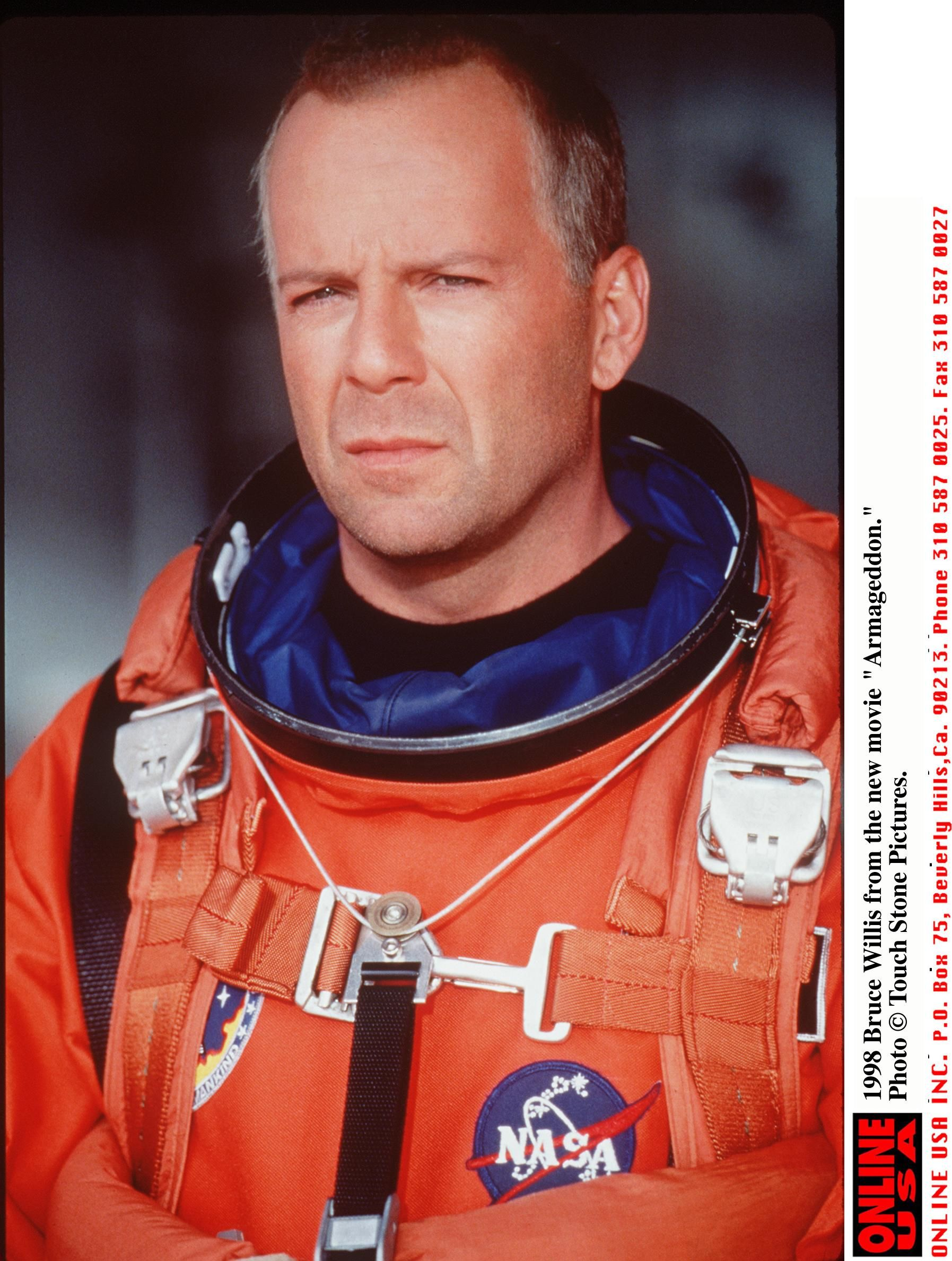 "Bruce Willis In ""Armageddon."" 