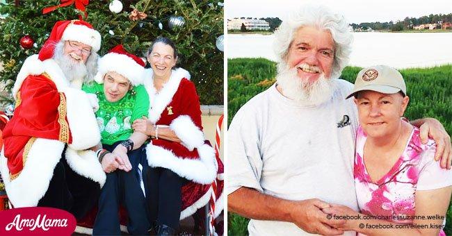 Un veuf en deuil perpétue la tradition de Noël pour honorer son épouse décédée : la mère Noël