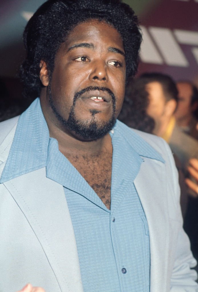 American soul singer Barry White pictured circa 1975   Photo: Getty Images