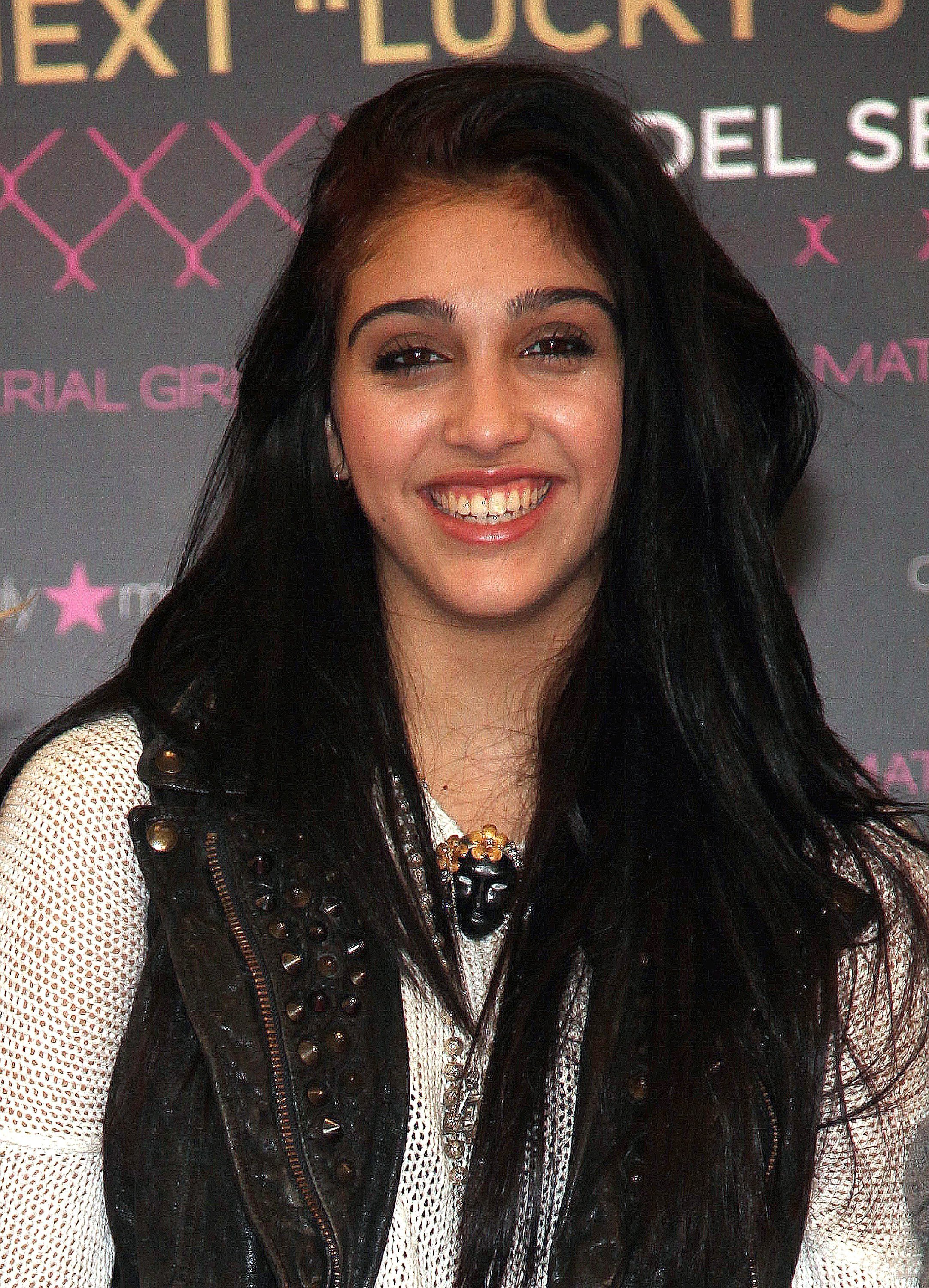 "Lourdes Leon attends the Material Girl ""Lucky Stars"" casting call at Macy's Herald Square on November 2, 2011, in New York City. 