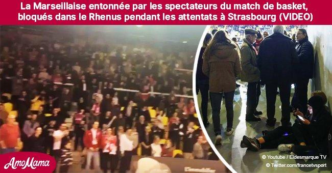 Suite à l'attaque de Strasbourg, des personnes confinées dans une salle de sport chantent la Marseillaise (vidéo)