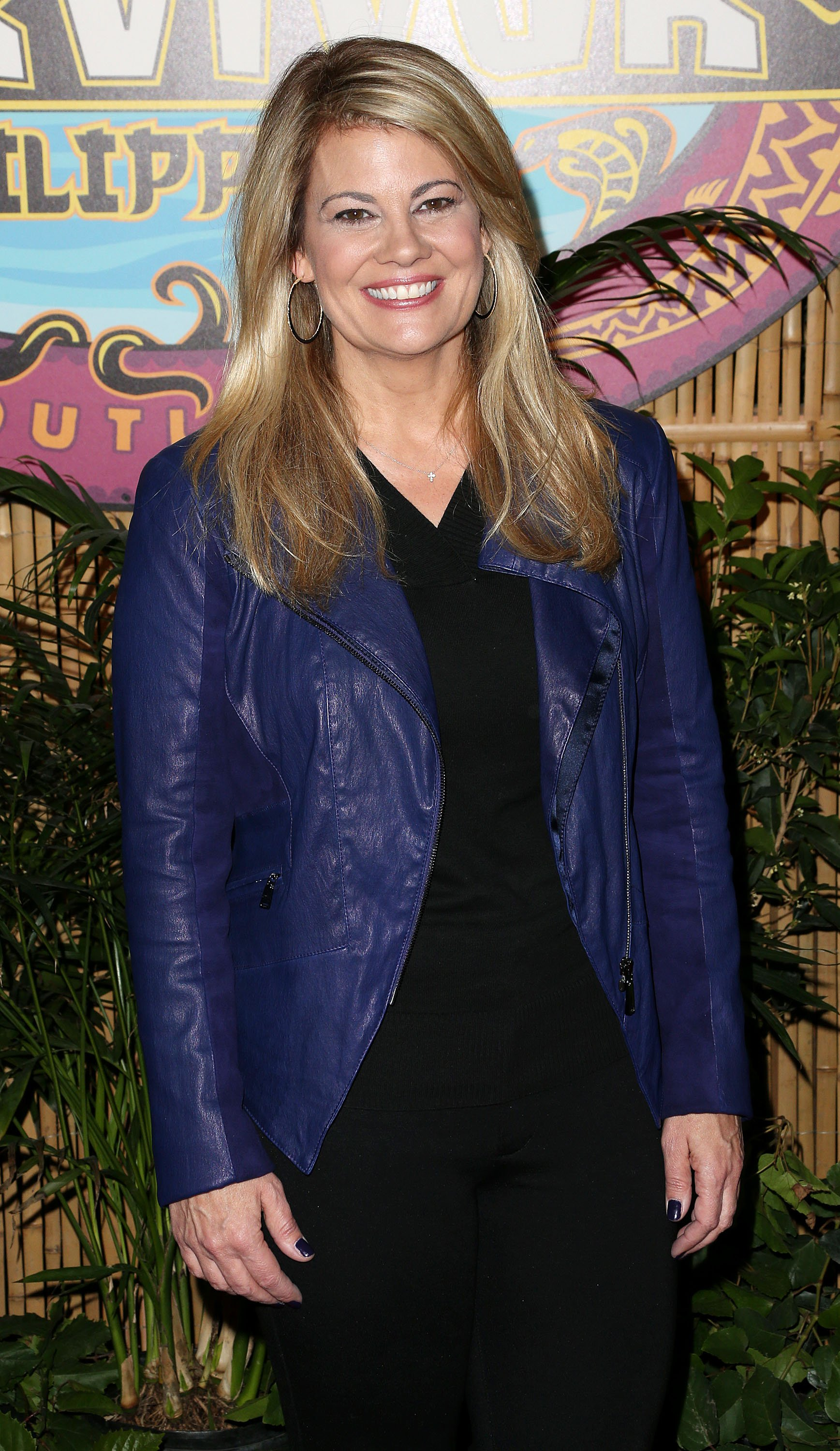 "Lisa Whelchel attends CBS' ""Survivor: Philippines"" Finale & Reunion Red Carpet at CBS Television City on December 16, 2012. 