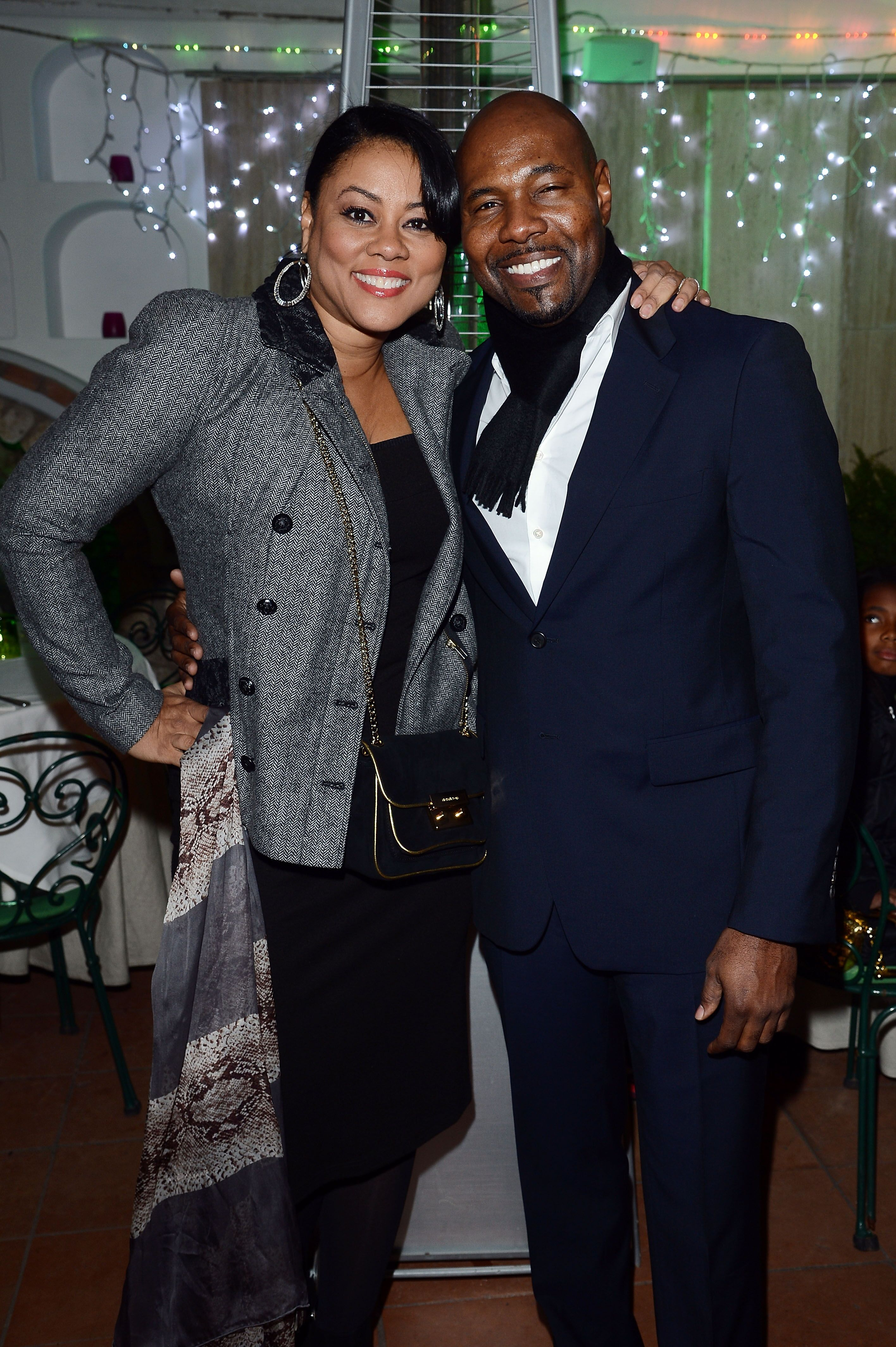 Antoine Fuqua and wife Lela Rochon/ Source: Getty Images