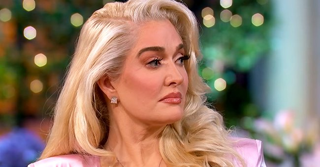 """Erika Jayne during the taping of """"The Real Housewives of Beverly Hills"""" Season 11 four-part reunion special, September 2021 