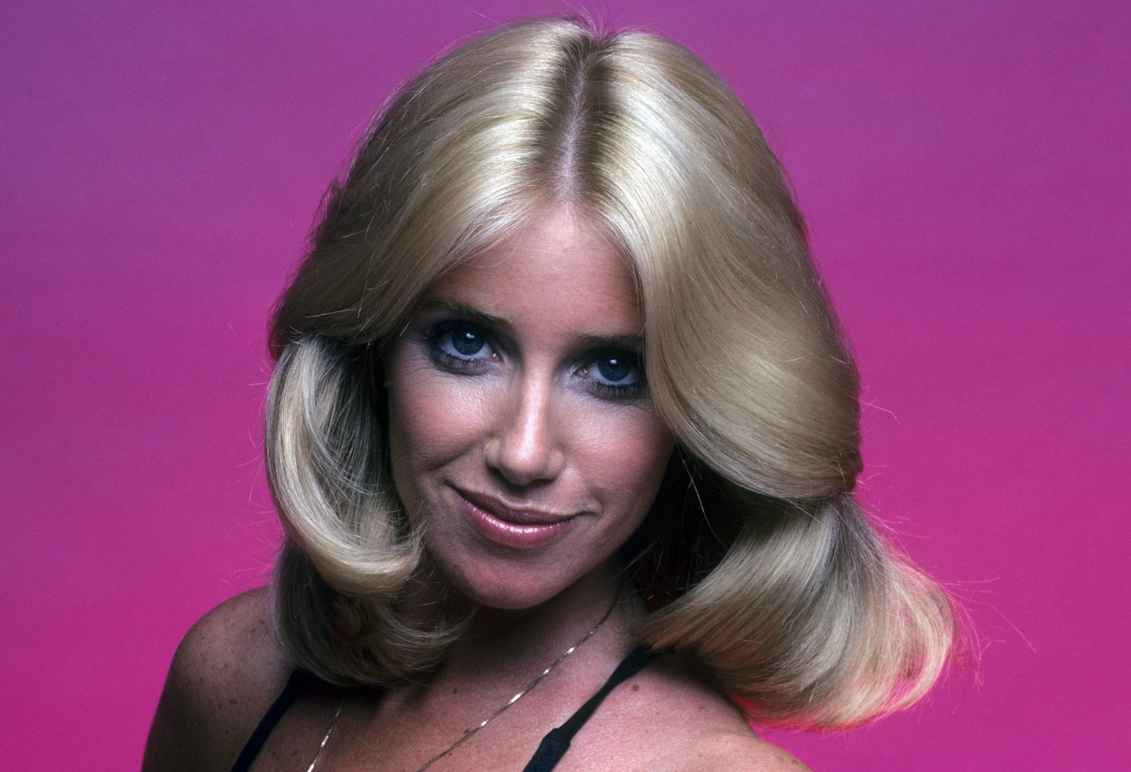 "Suzanne Somers' head shot for ""Three's Company"" on August 23, 1977 