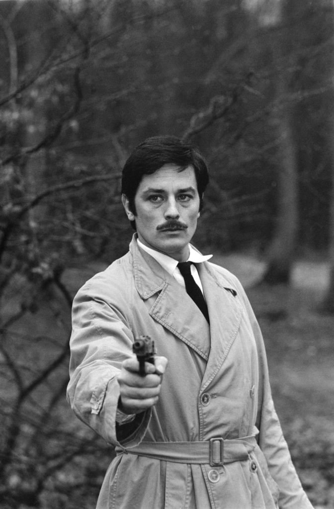 Alain Delon dans Le Cercle rouge. | Photo : Getty Images