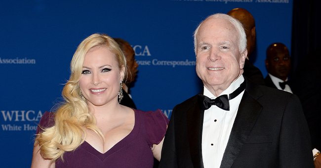 Meghan McCain and Senator John McCain at the 100th Annual White House Correspondents' Association Dinner on May 3, 2014, in Washington, DC | Photo: Dimitrios Kambouris/Getty Images