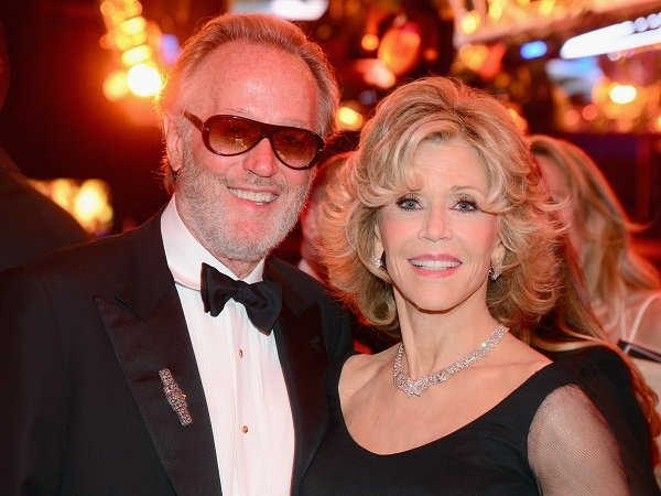 Jane Fonda and her brother Peter on June 5, 2014 in Hollywood, California | Source: Getty Images
