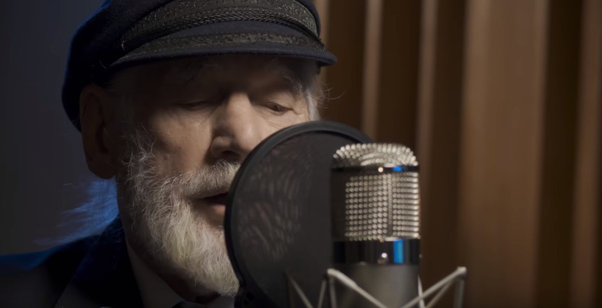 "Jim Radford singing ""Shores of Normandy"" 
