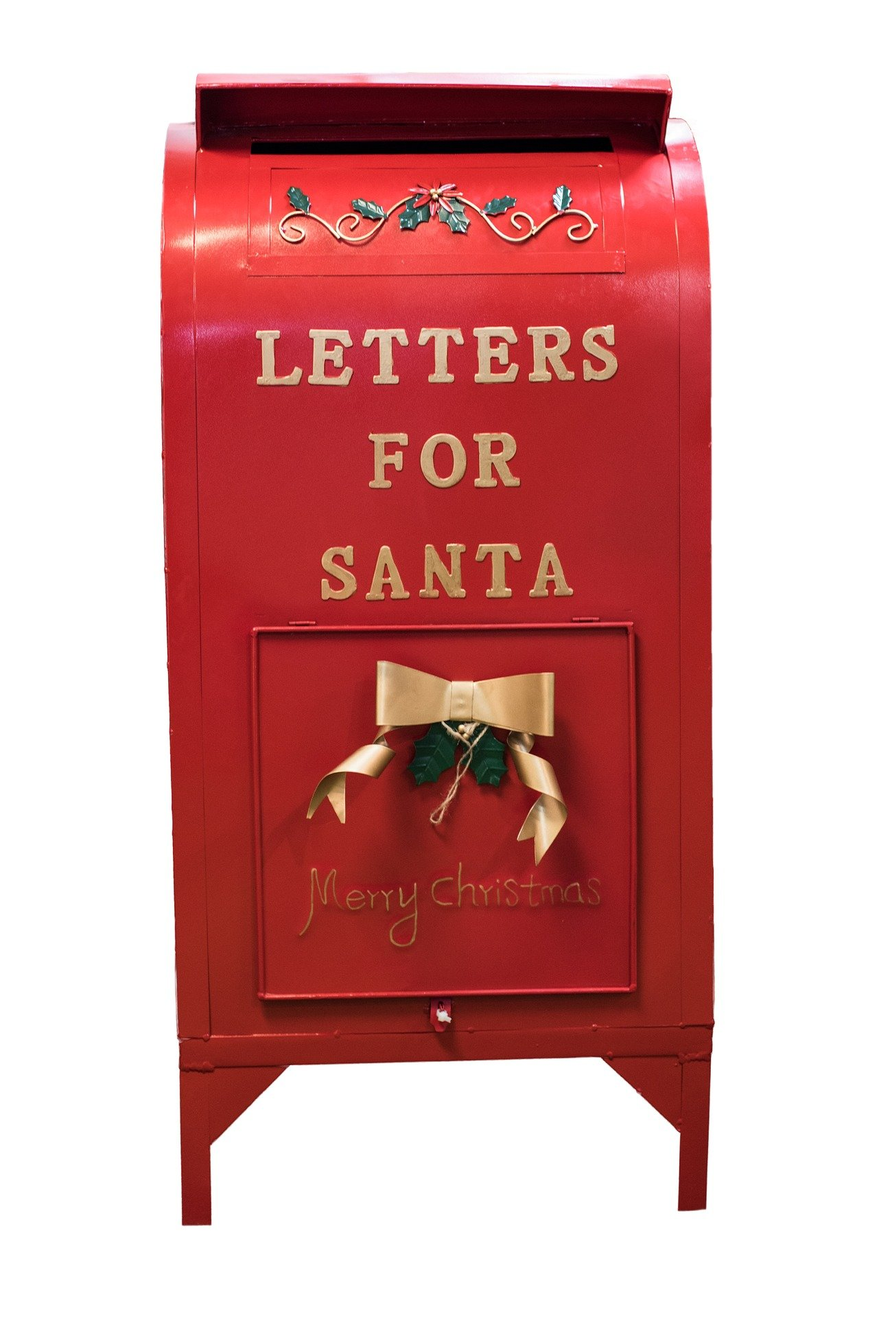 A post box that deliver mail to Santa Clause in the North Pole. | Source: Pixabay.