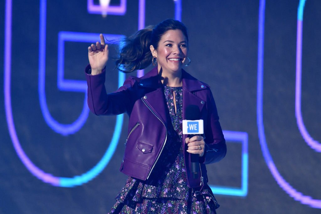 Sophie Gregoire Trudeau on stage during WE Day UK 2020 at The SSE Arena, Wembley on March 04, 2020 in London, England | Photo: Getty Images