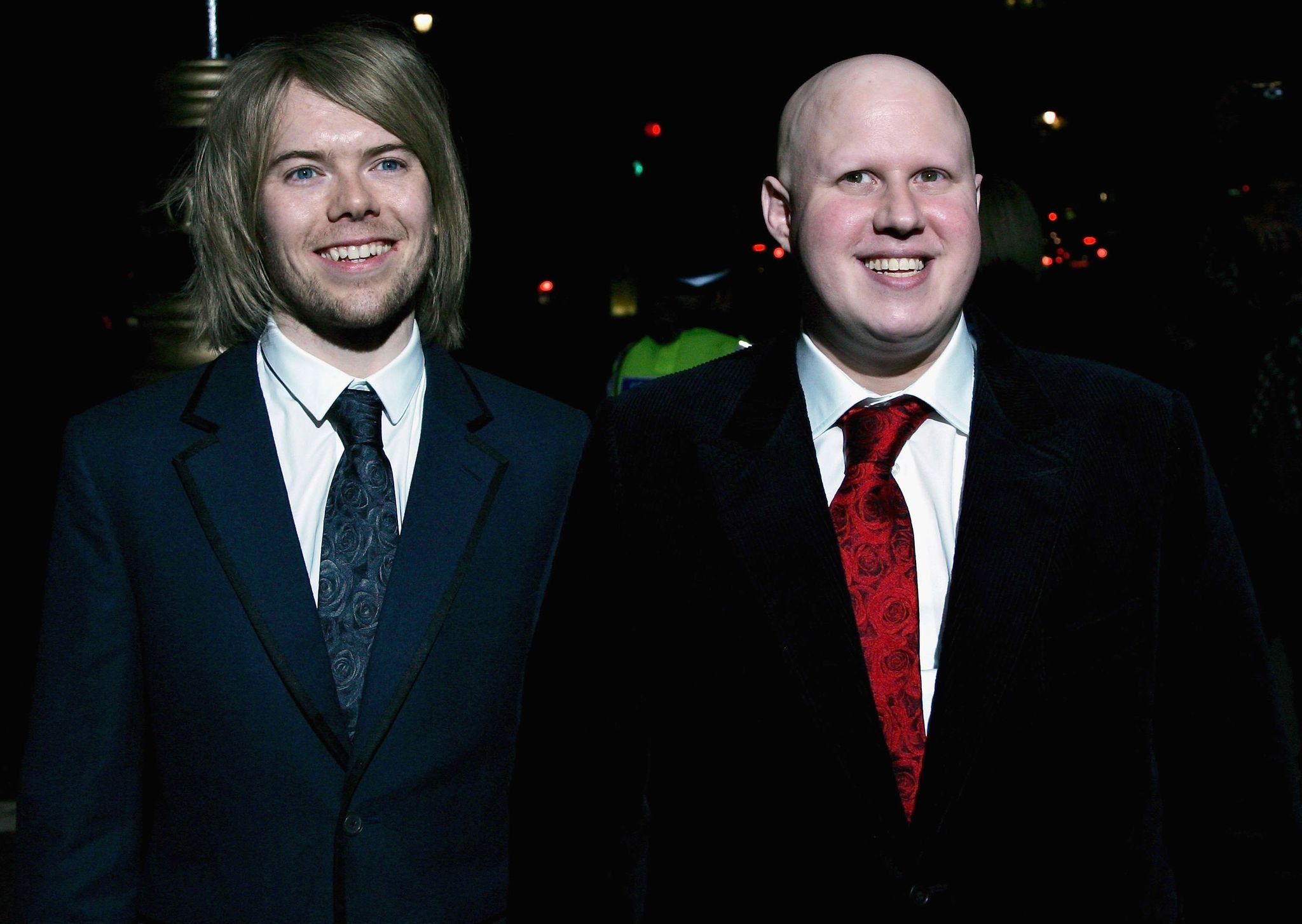 Matt Lucas  and Kevin McGee at their party at The Banqueting House after their Civil Partnership Ceremony in 2006 in London, England | Source: Getty Images