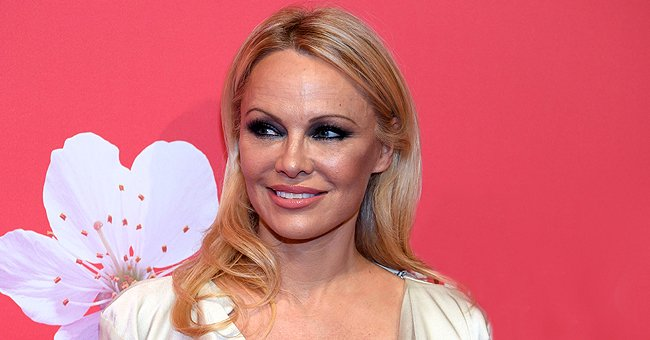 See Pamela Anderson's Ageless Beauty and Shiny Heels in an Instagram Shot