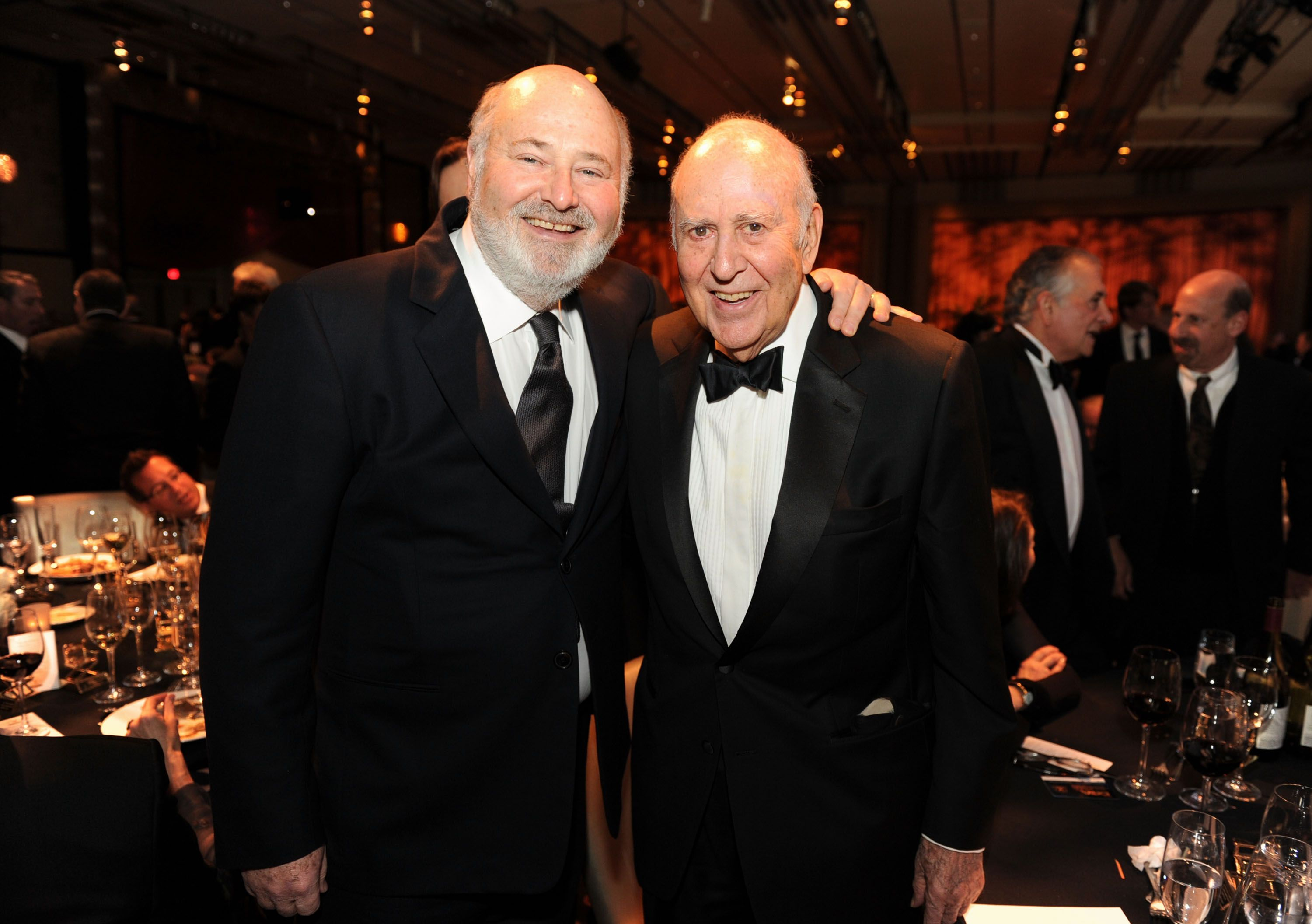 Rob Reiner and Carl Reiner at the 63rd Annual Directors Guild Of America Awards in 2011 in Hollywood | Source: Getty Images