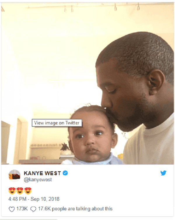 Source: Twitter/kanyewest
