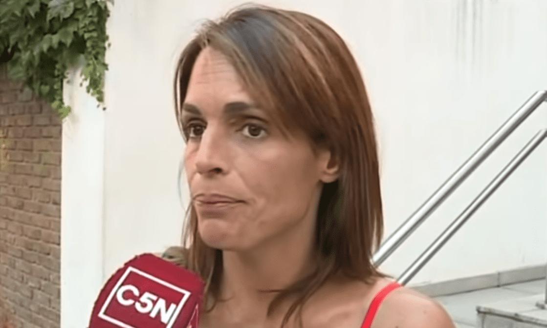 Verónica Monti en entrevista.   Imagen: YouTube/Youtube C5N