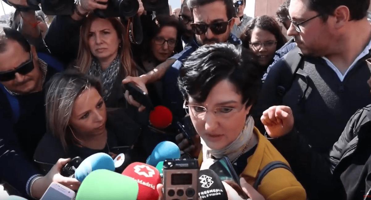 Antonia Barba Garcia, abogada de José Roselló y Vicky García, padres de Julen. | Imagen: YouTube/Europa Press