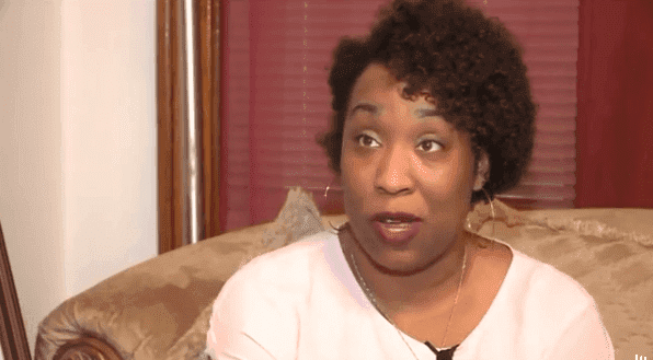 Dawn McDowell has been harassed by her racist neighbor several times.   Photo: Yahoo.com