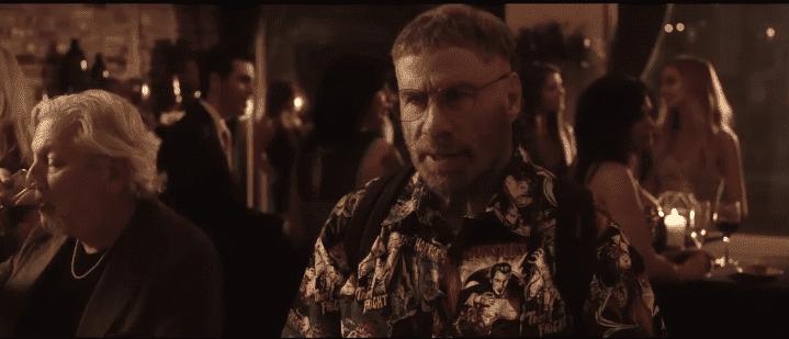 "John Travolta as Moose in ""The Fanatic."" | Source: YouTube/Rapid Trailer"