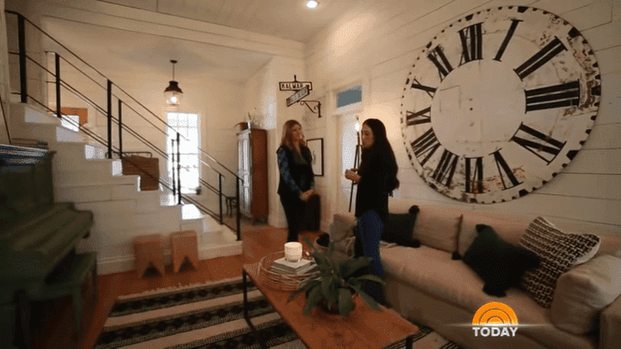 Joanna Gaines gives tour around her farmhouse | Source: YouTube/TODAY