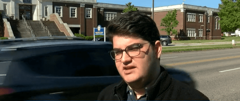 Joseph Vivian, an openly gay senior student at Huntisville High School. | Source: waff.com