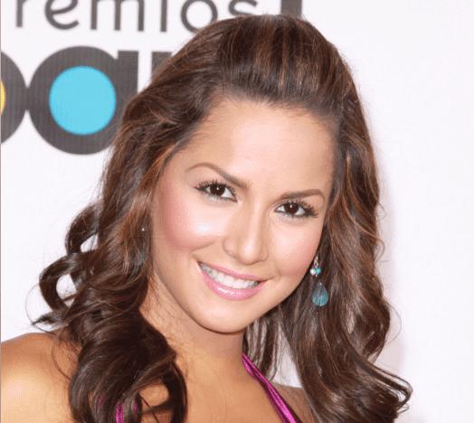 Carmen Villalobos en los Premios Billboard de Música Latina 2009 en el Bank United Center el 23 de abril de 2009 en Miami. |Imagen: Getty Images