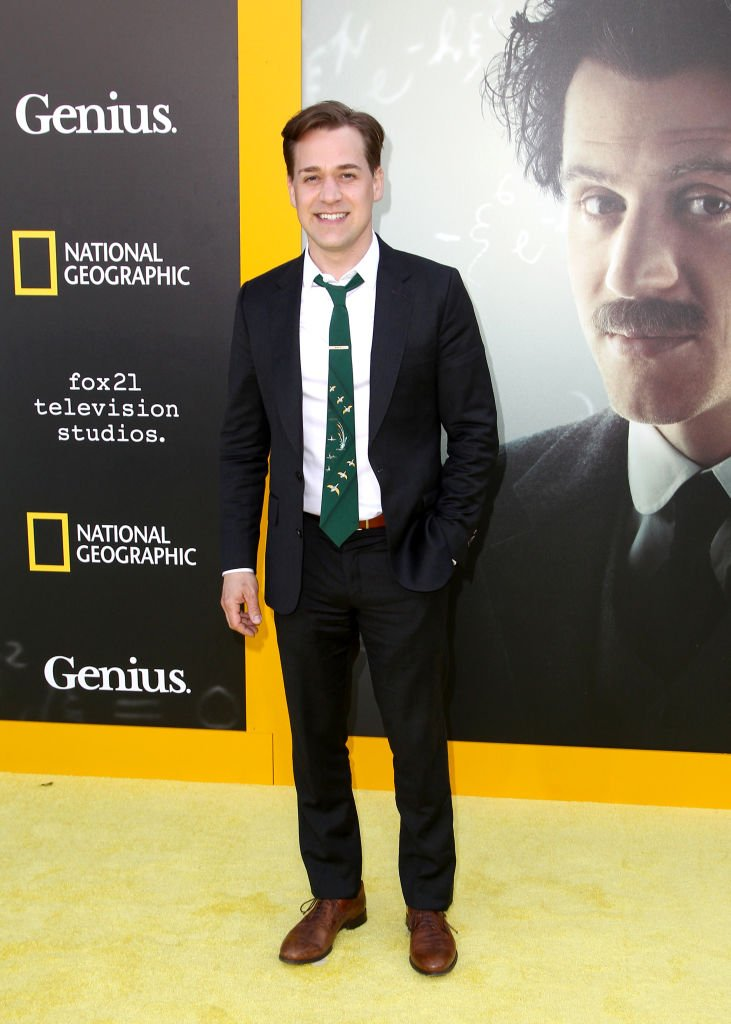 "T.R. Knight attends the premiere screening of National Geographics' ""Genius"" in Los Angeles, California on April 24, 2017 