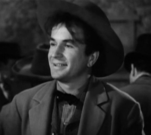 "Noah Beery, Jr. in ""The Carson City Kid"" ,1940. 