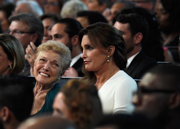 Esther Jenner with Caitlyn Jenner at The 2015 ESPYS at Microsoft Theater on July 15, 2015 in Los Angeles, California | Photo: Getty Images