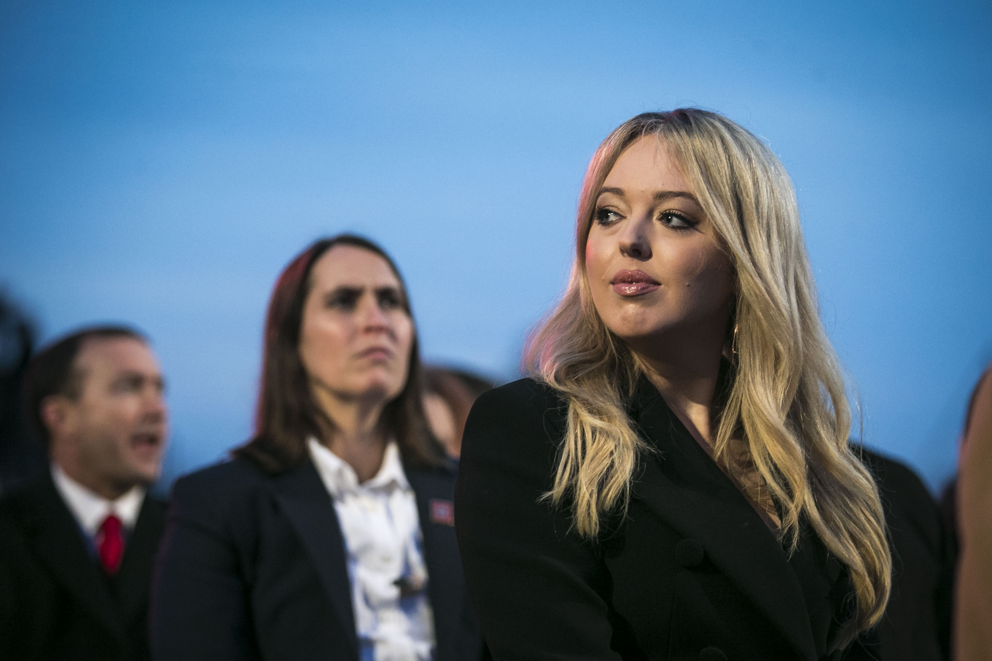 Tiffany Trump, daughter of U.S. President Donald Trump, attends the 95th annual national Christmas tree lighting ceremony held by the National Park Service on the Ellipse near the White House on November 30, 2017| Photo: Getty Images