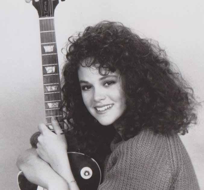 "Press photo of Rebecca Schaeffer for ""My Sister Sam"" in the 1980s 