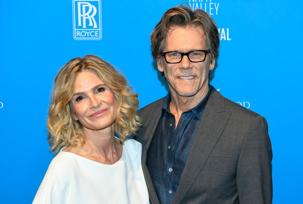 Kyra Sedgwick and Kevin Bacon pictured at the Napa Valley Film Festival Celebrity Tributes at the Lincoln Theatre, 2019, California. | Photo: Getty Images