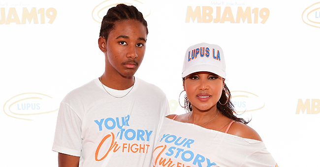Toni Braxton and Son Diezel Support Michael B Jordan's Event to Find a Cure for Lupus