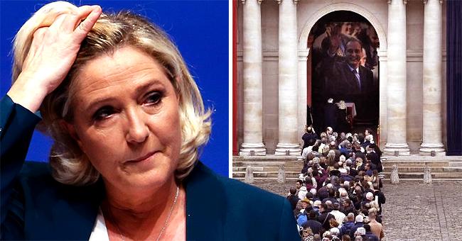 Obsèques de Jacques Chirac : ses proches ne souhaitent pas la présence de Marine Le Pen