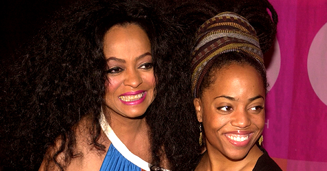 Diana Ross' Daughter Rhonda Brings Her Son Raif on Stage in an Adorable Photo