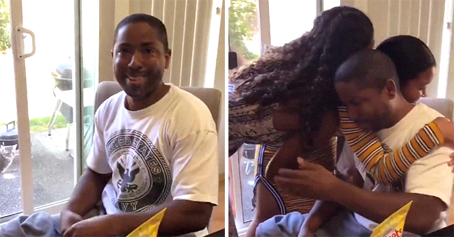 Watch Sisters Surprise Stepdad by Taking His Last Name on Father's Day