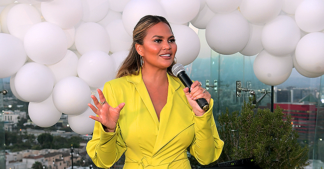 'Lip Sync Battle' Host Chrissy Teigen Shares Adorable Video of Son Miles Whirling around and Dancing