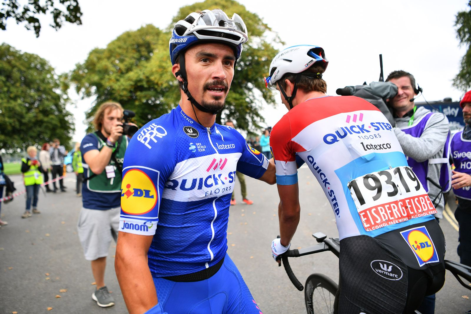 Le coureur cycliste Français Julian Alaphilippe. | Photo : Getty Images