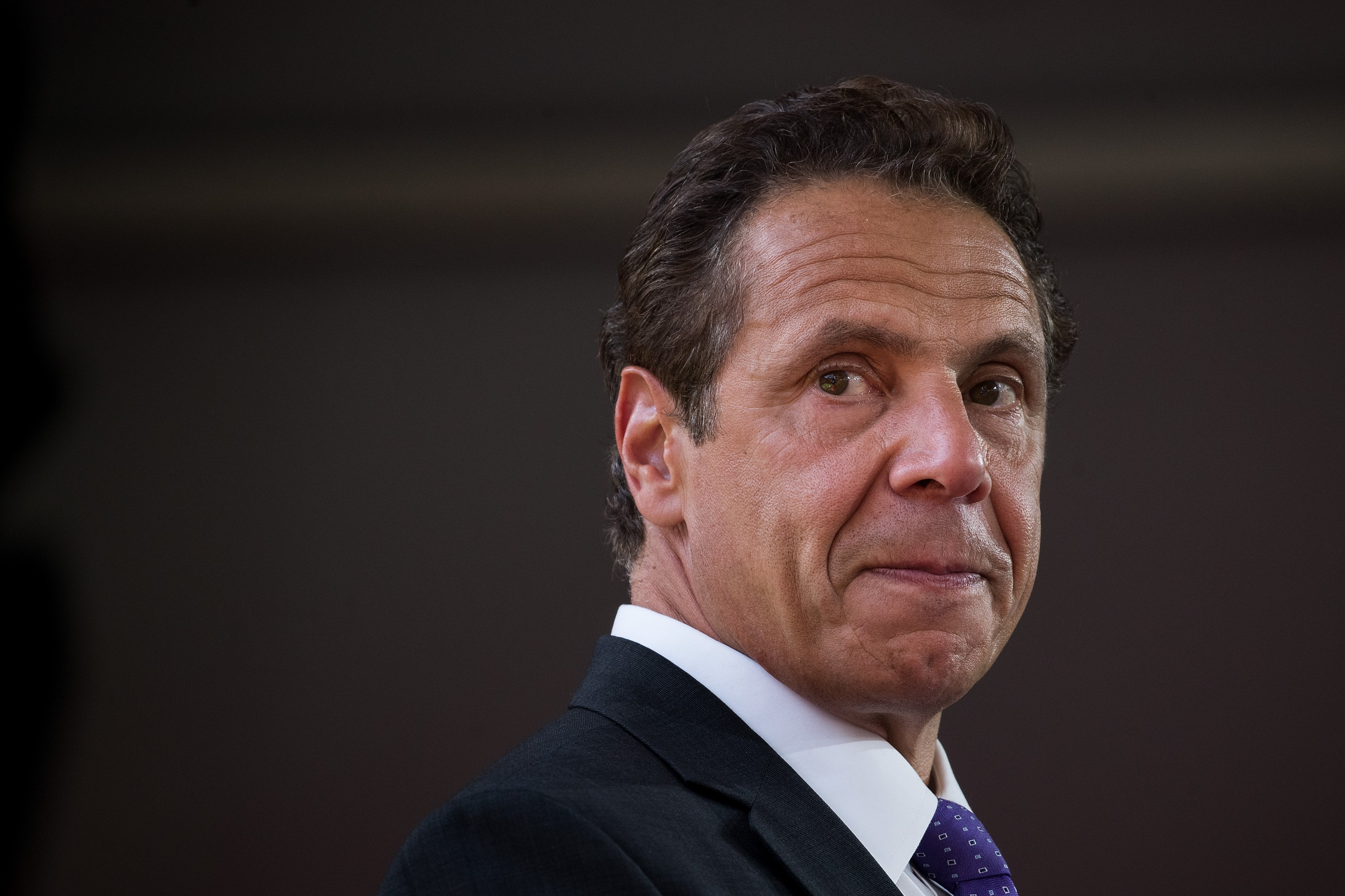 New York Governor Andrew Cuomo during a dedication ceremony to mark the opening of the new campus of Cornell Tech on Roosevelt Island, September 13, 2017 in New York City.   Photo: GettyImages