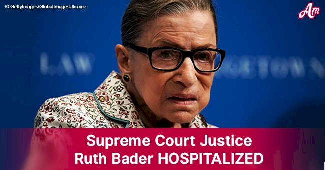 Supreme Court Justice Ruth Bader, 85, hospitalized after falling in her office last night