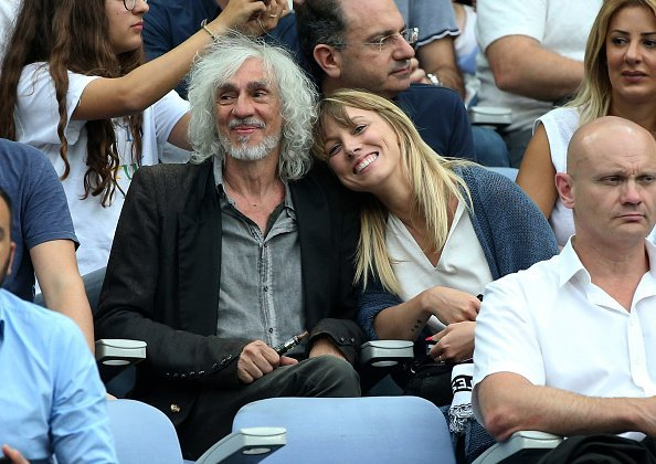 Louis Bertignac and Laeticia attend the French Cup final (Coupe de France) between Paris Saint-Germain and SCO Angers at Stade de France on May 27, 2017 in Saint-Denis near Paris, France. | Photo : Getty Images