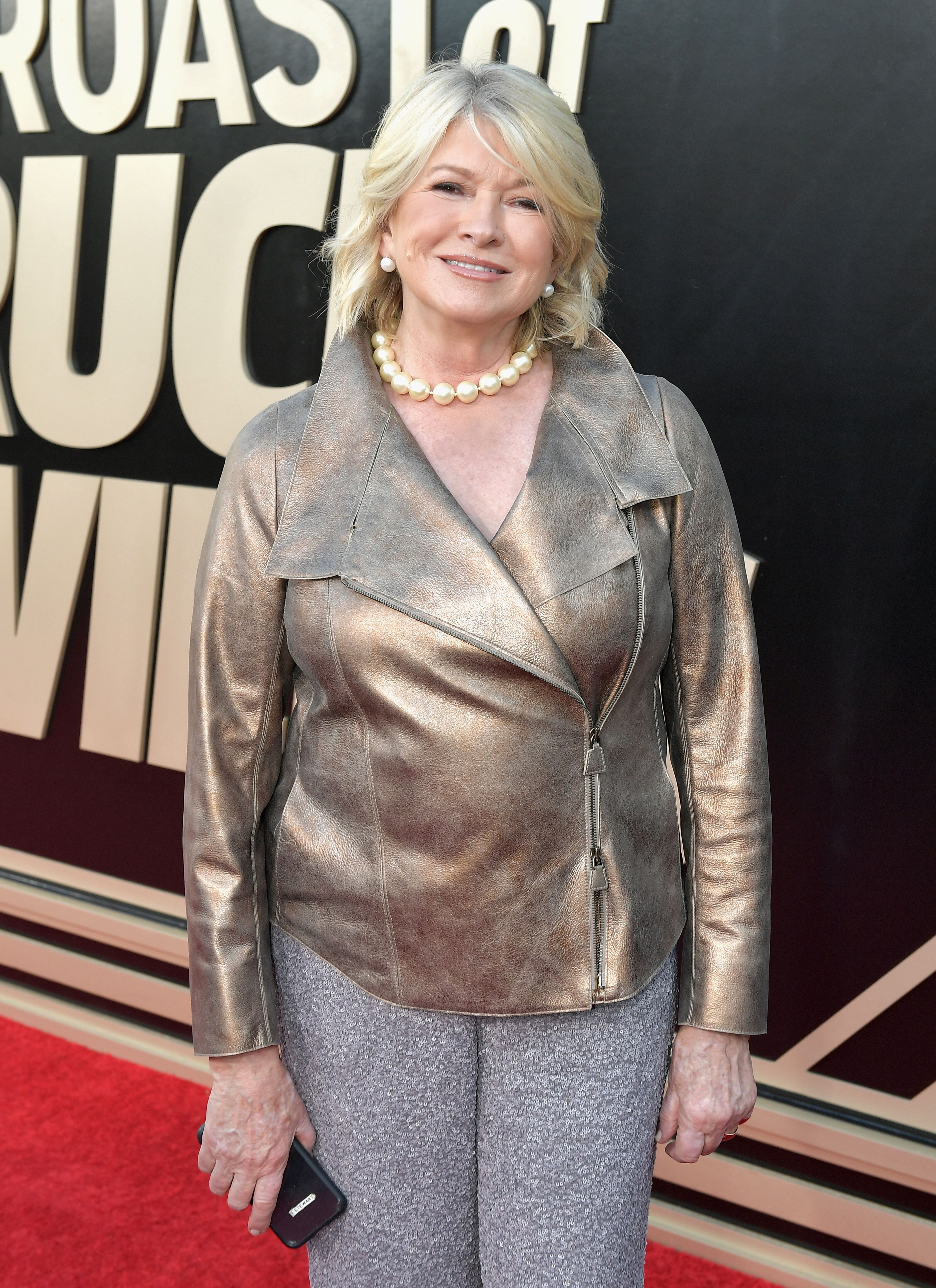 Martha Stewart attends the Comedy Central Roast of Bruce Willis at Hollywood Palladium | Getty Images