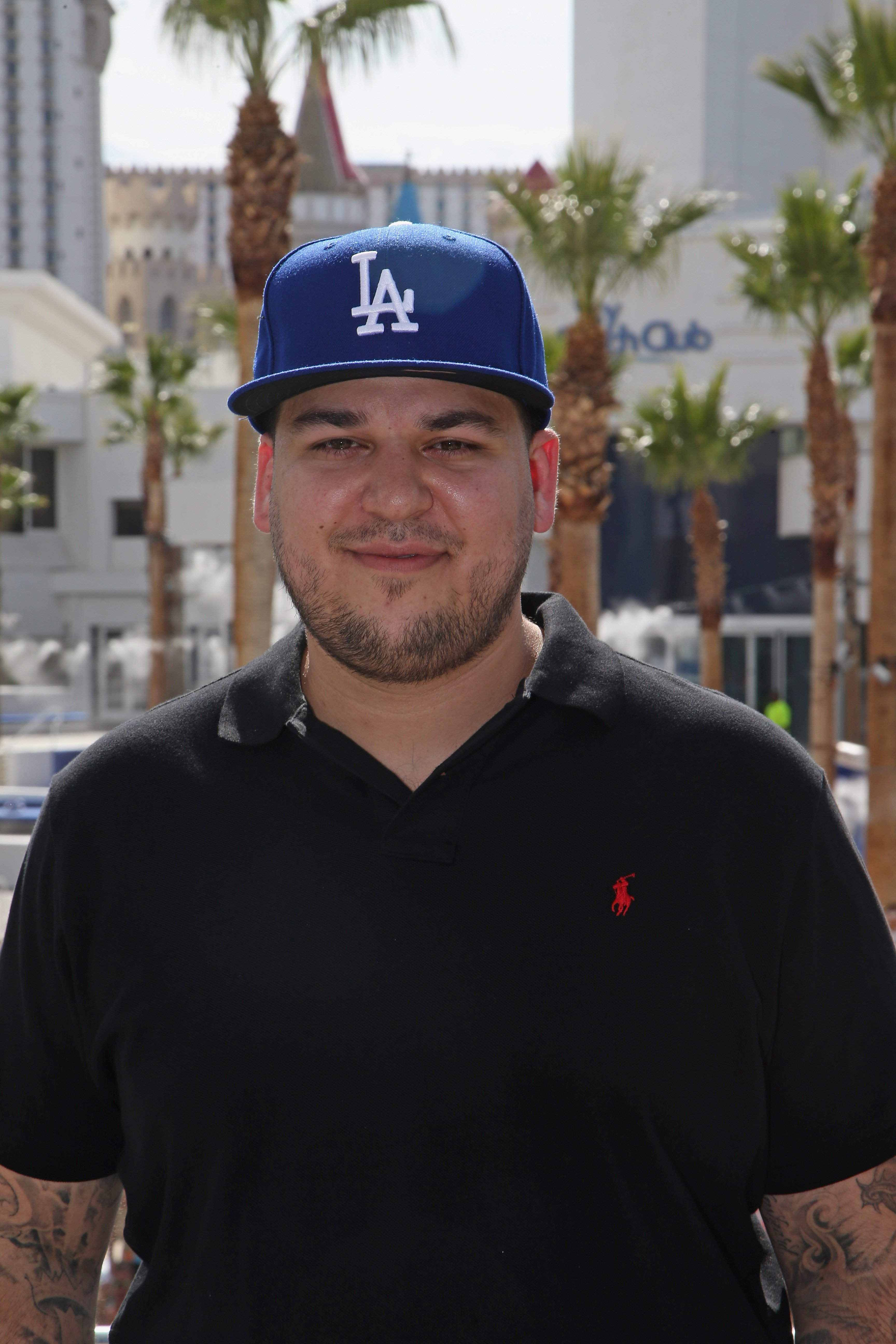 Rob Kardashian at the Sky Beach Club at the Tropicana Las Vegas on May 28, 2016 | Source: Getty Images/GlobalImagesUkraine