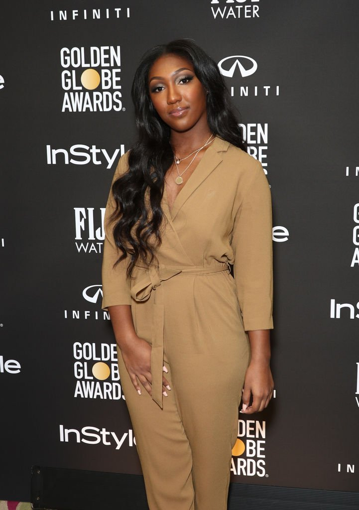 Isan Elba attends a press conference by the Hollywood Foreign Press Association and InStyle for the Golden Globe Ambassador Reveal in Los Angeles. | Photo: Getty Images