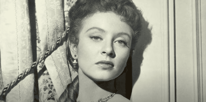 """Amanda Blake poses for a photo during the shooting of """"Gunsmoke"""" 